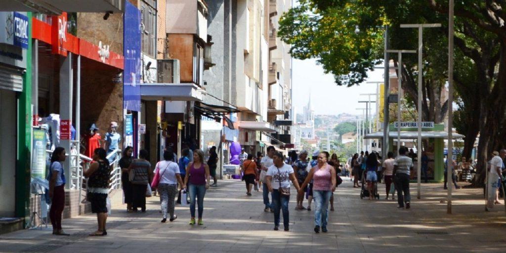 Calçadão de Ribeirão Preto