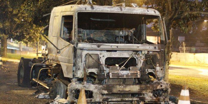Caminhão explodiu na zona leste em Ribeirão Preto